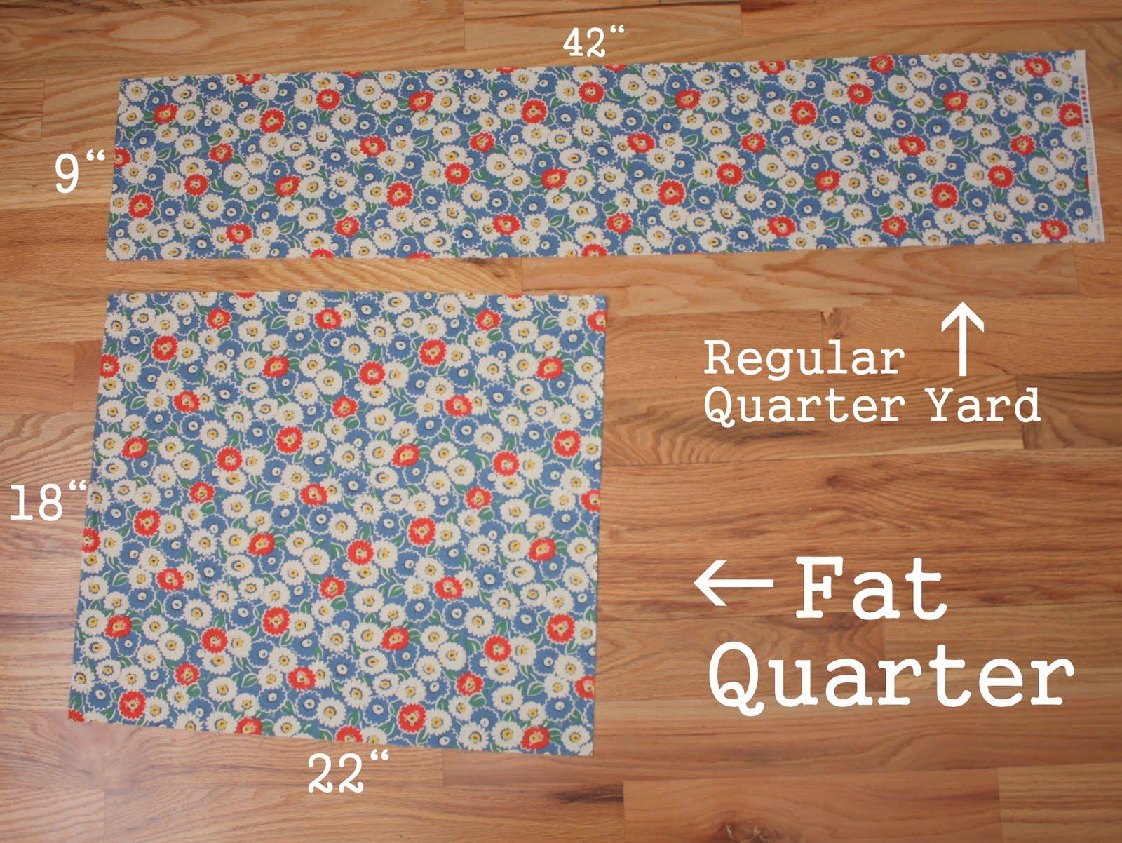 Fat Quarters Calico Cutters